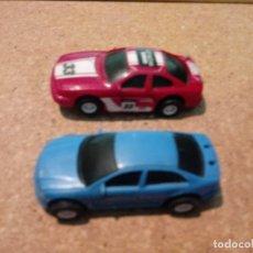 Slot Cars: DOS COCHES DE PISTA ELÉCTRICOS. Lote 181010250