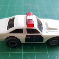 Slot Cars: COCHE POLICÍA MK3 -TCR-MADE HONG KONG- RESTAURADO. Lote 181186888