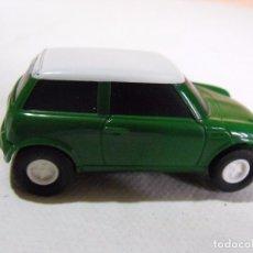 Slot Cars: COCHE TIPO SCALEXTRIC MINI COOPER.. Lote 181858663