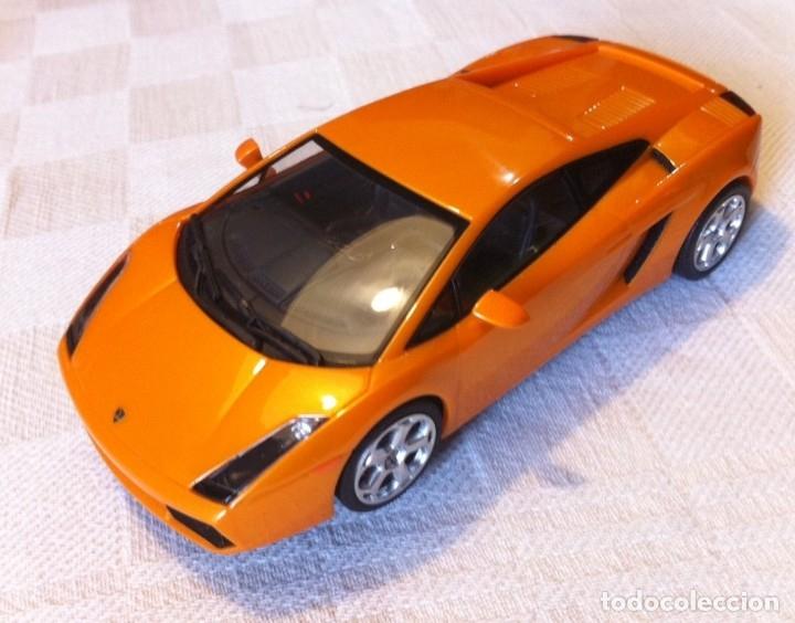 SCALEXTRIC AUTOART LAMBORGHINI GALLARDO CON LUCES - COMO NUEVO (Juguetes - Slot Cars - Magic Cars y Otros)