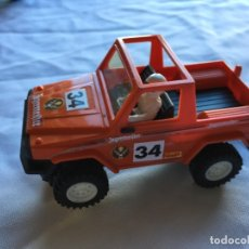 Slot Cars: COCHE SCALEXTRIC STS 4X4 MERCEDES JAGERMEIFTER 34. Lote 182276306