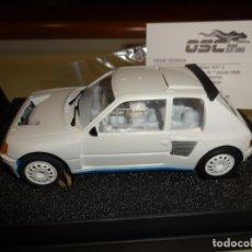 Slot Cars: OSC. PEUGEOT 205 T16 EVO1. RALLYE TEST. REF. B01008. Lote 182318737