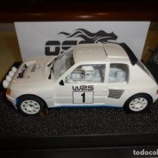 Slot Cars: OSC. PEUGEOT 205 T16 EVO1. WRS1. REF. B01009. Lote 182318938