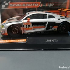 Slot Cars: NOVEDAD - AUDI LMS GT3 EDICION ESPECIAL CAMPEONATO DE SLOT 2019 HOME SERIES DE SCALEAUTO. Lote 182373858