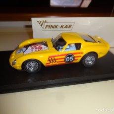 Slot Cars: PINK KAR. FERRARI 250 GTO. 24H DE SANT CELONI 2005.. Lote 182625950