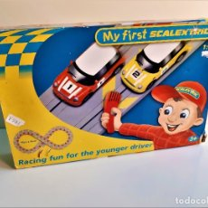 Slot Cars: MY FIRST SCALEXTRIC 1/64 . Lote 182630090