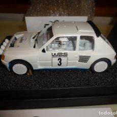 Slot Cars: OSC. PEUGEOT 205 EVO1 WRS3. REF. B01011. Lote 183194968