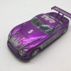 Slot Cars: SLOT CAR TVR SPEED DE HORNBY. Lote 183374593