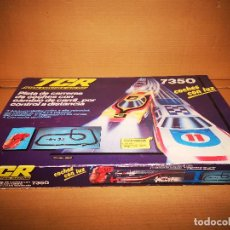 Slot Cars: CAJA TCR 7350 MUY BUEN ESTADO | SCALEXTRIC | SLOT | TOTAL CONTROL RACING |. Lote 183441855