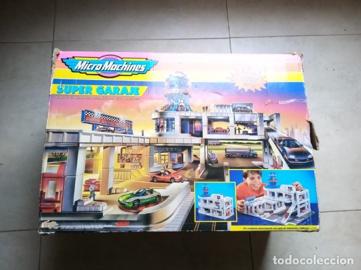 Slot Cars: Super Garaje Micromachines. Incompleto - Foto 8 - 183539153