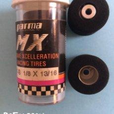 Slot Cars: PARMA MX - 2 NEUMÁTICOS DE COMPETICIÓN - 697 B 1/8 X 13/16. Lote 183758732