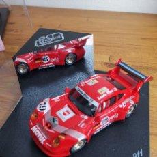 Slot Cars: COCHE SCALEXTRIC DE PRO SLOT PORSCHE 911 GT2 Nº79 ROJO. Lote 183913026
