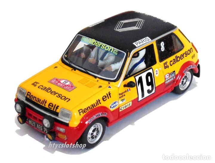 Slot Cars: LE MANS MINIATURES RENAULT 5 ALPINE #19 RAGNOTTI / ANDRIÉ RALLYE MONTE CARLO 1978 GTS132003/19M - Foto 2 - 184092260