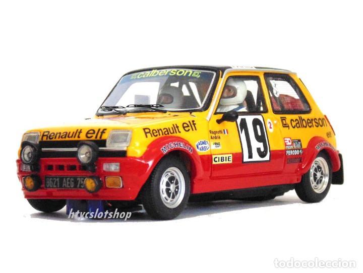Slot Cars: LE MANS MINIATURES RENAULT 5 ALPINE #19 RAGNOTTI / ANDRIÉ RALLYE MONTE CARLO 1978 GTS132003/19M - Foto 5 - 184092260