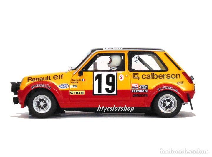 Slot Cars: LE MANS MINIATURES RENAULT 5 ALPINE #19 RAGNOTTI / ANDRIÉ RALLYE MONTE CARLO 1978 GTS132003/19M - Foto 6 - 184092260