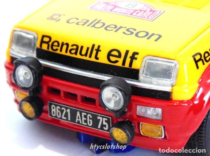 Slot Cars: LE MANS MINIATURES RENAULT 5 ALPINE #19 RAGNOTTI / ANDRIÉ RALLYE MONTE CARLO 1978 GTS132003/19M - Foto 8 - 184092260
