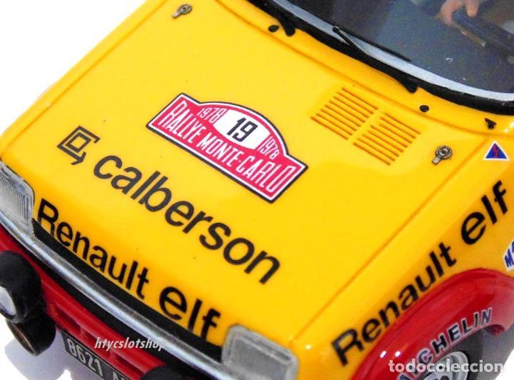 Slot Cars: LE MANS MINIATURES RENAULT 5 ALPINE #19 RAGNOTTI / ANDRIÉ RALLYE MONTE CARLO 1978 GTS132003/19M - Foto 9 - 184092260