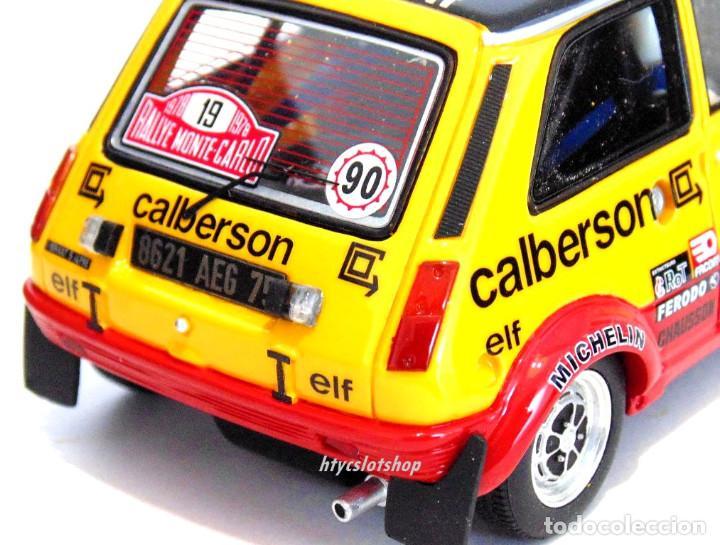 Slot Cars: LE MANS MINIATURES RENAULT 5 ALPINE #19 RAGNOTTI / ANDRIÉ RALLYE MONTE CARLO 1978 GTS132003/19M - Foto 11 - 184092260
