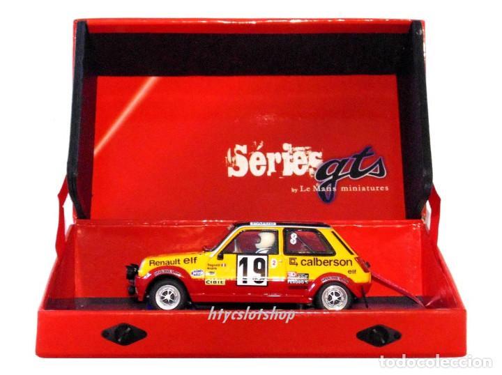 Slot Cars: LE MANS MINIATURES RENAULT 5 ALPINE #19 RAGNOTTI / ANDRIÉ RALLYE MONTE CARLO 1978 GTS132003/19M - Foto 13 - 184092260