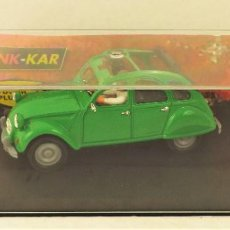 Slot Cars: PINK-KAR CITROEN 2CV 1974. Lote 184093248