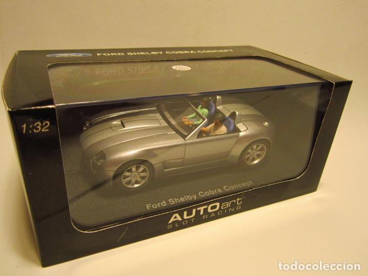 FORD SHELBY COBRA CONCEPT AUTOART NUEVO (Juguetes - Slot Cars - Magic Cars y Otros)