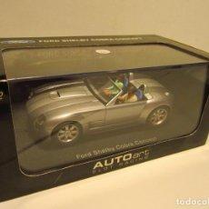 Slot Cars: FORD SHELBY COBRA CONCEPT AUTOART NUEVO. Lote 184820966