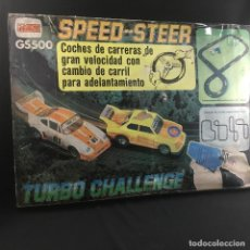 Slot Cars: SPEED-STEER-TURBO CHALLENGE-GS500-COMANSI. Lote 184847966