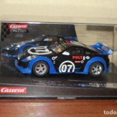 Slot Cars: NISSAN 350Z EDICION ESPECIAL POLY 2007 DE CARRERA NUEVOO. Lote 184864225