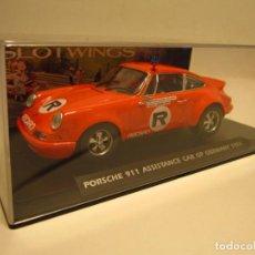 Slot Cars: PORSCHE 911 ASSISTANCE CAR 1976 SLOTWINGS NUEVO. Lote 186029203