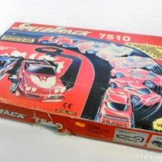 Slot Cars: CIRCUITO SPEED TRACK - MODEL IBER - FUNCIONANDO. Lote 186826892