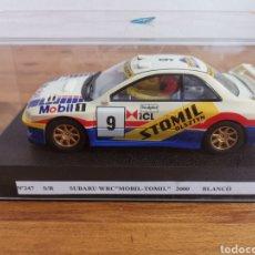 Slot Cars: COCHE SCALEXTRIC DE SUPERSLOT SUBARU WRC MÒBIL STOMIL 2000 SIN REFERENCIA NUEVO. Lote 187097041