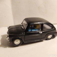 Slot Cars: SEAT 600 NEGRO DE REPROTEC. Lote 187115953