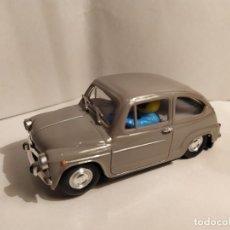 Slot Cars: SEAT 600 GRIS DE REPROTEC. Lote 187128672