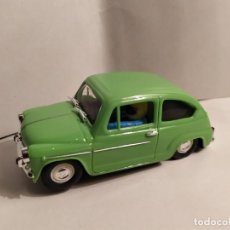 Slot Cars: SEAT 600 VERDE CLARO DE REPROTEC. Lote 187128715