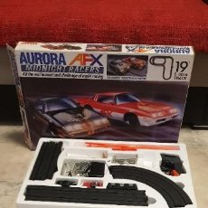 Slot Cars: AURORA AFX MIDNIGHT RACERS. Lote 187532681