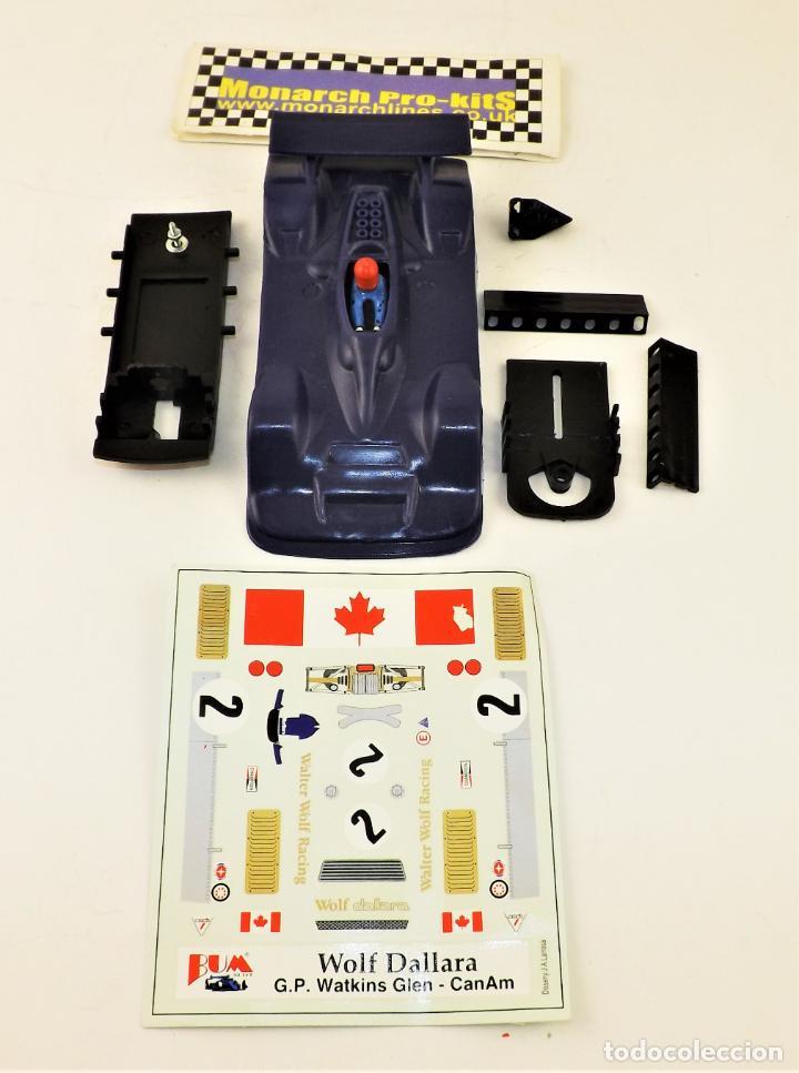Slot Cars: BUM SLOT Kit Wolf Dallara - Foto 3 - 238400235