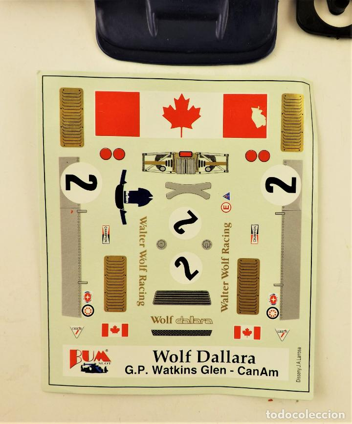 Slot Cars: BUM SLOT Kit Wolf Dallara - Foto 5 - 238400235