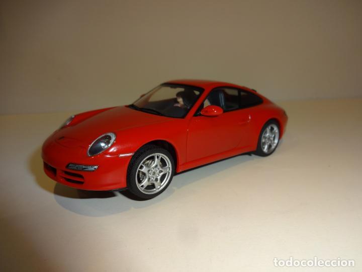 AUTO ART. PORSCHE 911 - 997 CARRERA S ROJO (Juguetes - Slot Cars - Magic Cars y Otros)