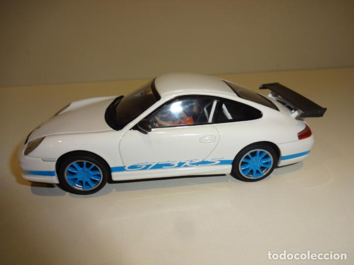 Slot Cars: Auto Art. Porsche 911 - 996 GT3 RS Blanco - Foto 3 - 188752546