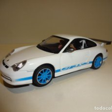 Slot Cars: AUTO ART. PORSCHE 911 - 996 GT3 RS BLANCO. Lote 188752546