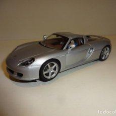 Slot Cars: AUTO ART. PORSCHE CARRERA GT GRIS PLATA. Lote 188752600