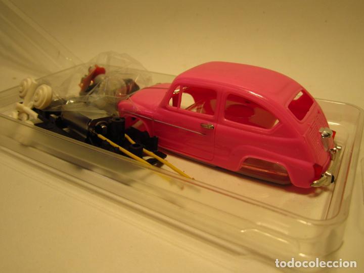 Slot Cars: KIT SEAT 600 REPROTEC COMPLETO NUEVO - Foto 2 - 189308273