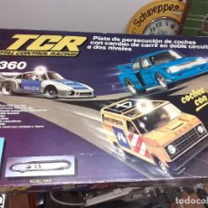 Slot Cars: TCR 7360 MODEL IBER 1980.CON 4 COCHES.FORD,BMW Y PORSCHE.. Lote 189781487