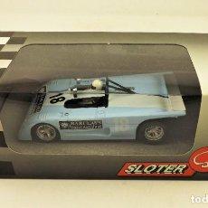 Slot Cars: SLOTER MINIMODELS LOLA T290 EDWARDS/VALLELUNGA . Lote 189897176