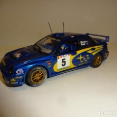 Slot Cars: AUTO ART. SUBARU IMPREZA. BURNS.. Lote 189902857