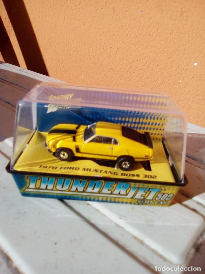 SLOT CAR FORD MUSTANG MUSCLE CAR HO (Juguetes - Slot Cars - Magic Cars y Otros)
