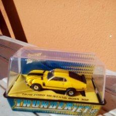 Slot Cars: SLOT CAR FORD MUSTANG MUSCLE CAR HO. Lote 190065635