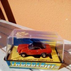 Slot Cars: HO SLOT CAR PLYMOUTH BARRACUDA. Lote 190092648
