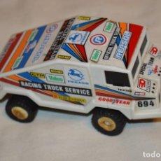 Slot Cars: ANTIGUO CAMIÓN TODO-TERRENO PEGASO - MARCA JYESA - AÑOS 70/80 - FUNCIONANDO ¡MIRA FOTOS/DETALLES!. Lote 190468256