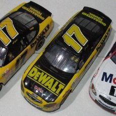 Slot Cars: LOTE 3 COCHES SLOT FORD TAURUS, DEWALT, MOBIL, HORNBY. Lote 190777691